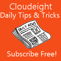 Get our free daily computer tips and tricks newsletter - it's free!