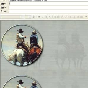 American Cowboy Email Stationery - American  Cowboy Email Stationery